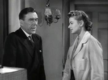 Dr Murchison talks to Constance about his retirement