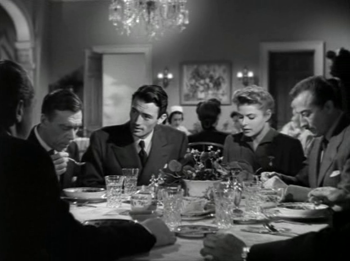 At the dinnertable