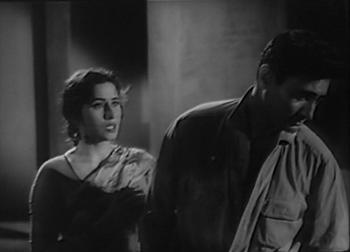 Dev Anand and Madhubala in Sharaabi