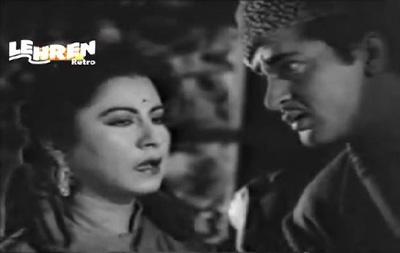 Moti Singh with his boss, Moti Bai