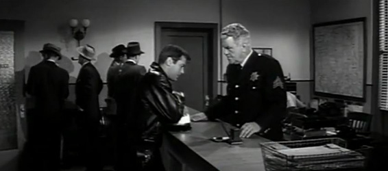 Joe Martini comes to the police station