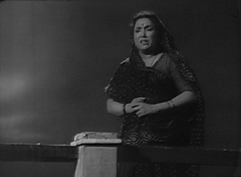 Keshav's mother, distraught and at her wits' end
