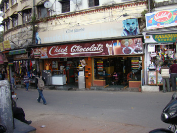 Chick Chocolate, the restaurant in Mussoorie