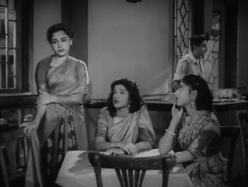 Ameeta, Shubha Khota and Anita Guha in Dekh Kabira Roya