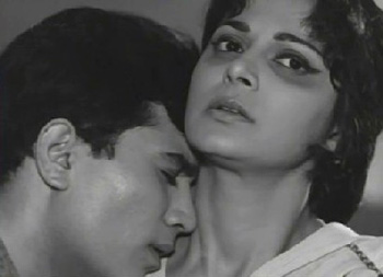 Rajesh Khanna and Waheeda Rehman in Khamoshi