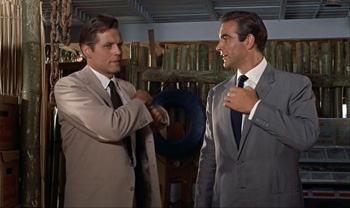 Bond and Leiter discover each other