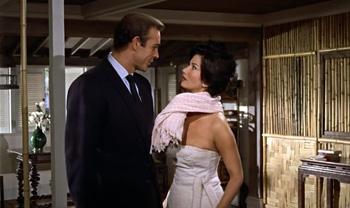 Bond meets up with Miss Taro