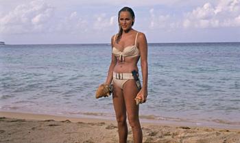 Ursula Andress as Honey Ryder in Dr No