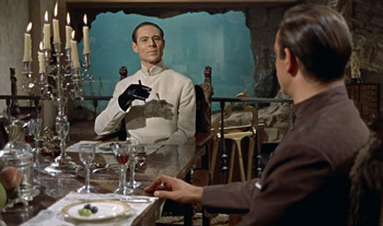 Joseph Wiseman in and as Dr No