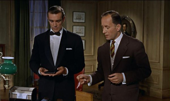 Bond's Beretta is replaced with a Walther PPK