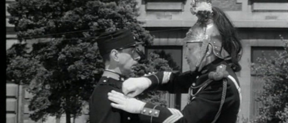 Dreyfuss is stripped of his insignia