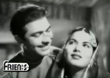Talat Mahmood and Shyama in Lala Rookh