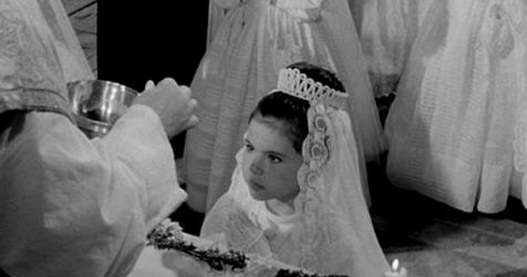 Tulita at her first communion