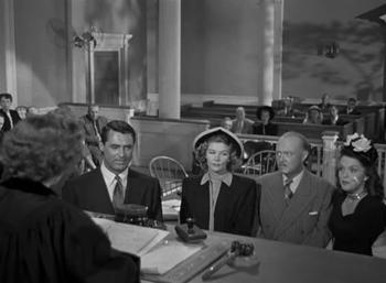 Margaret hears a case