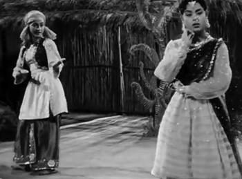 Reshmi salwar kurta jaali ka, from Naya Daur