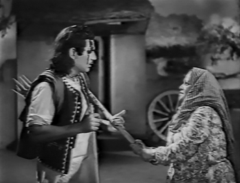 Sahiban's mother beats Mirza