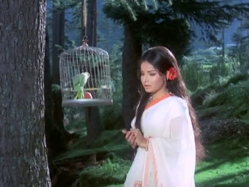 Kanchan in the woods
