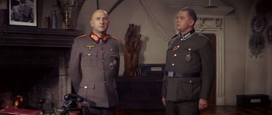 Otto speaks to General Kahlenberge