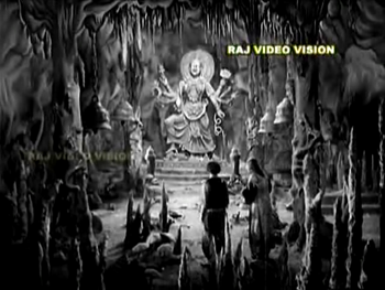 The cave of Pathala Bhairavi