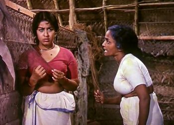 Chacki scolds Karuthamma