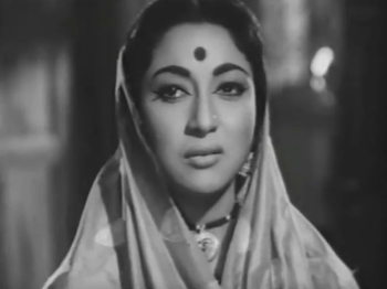 Mala Sinha in and as the Bahurani