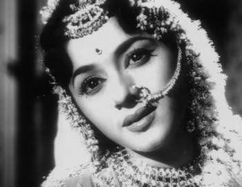 Padmini in and as Kalpana