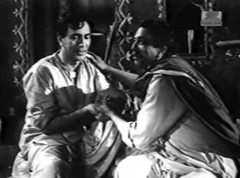 Chandan with Kaka