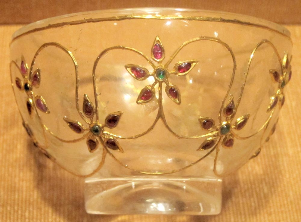 A Mughal goblet, for sherbet, among the most popular drinks to help ward off the heat.