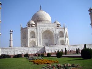 The rauza at the Taj Mahal