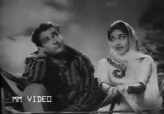 Shammi Kapoor and Vyjyantimala in College Girl