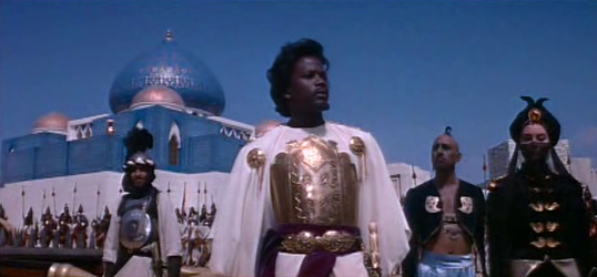 Sidney Poitier in The Long Ships