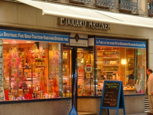The shop of Edouard Artzner, home to Strasbourg's best foie gras