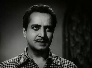 Pran as Ugra Narayan in Madhumati