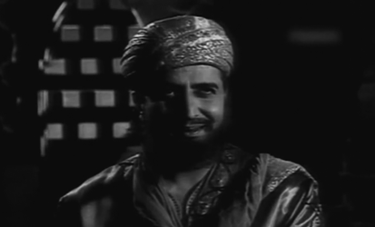 Halaku disguises himself as a Persian merchant