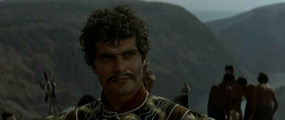 Omar Sharif as Genghis Khan