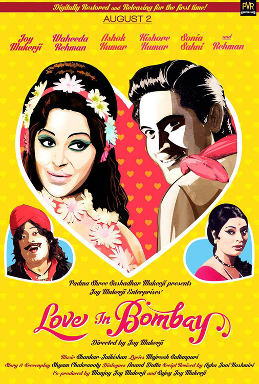 Love in Bombay - poster