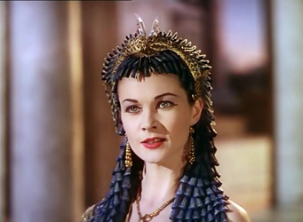 Vivien Leigh as Cleopatra in Caesar and Cleopatra