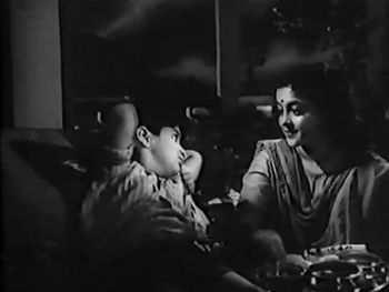 Sushma with her son, Munna