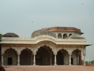 The Shah Burj, through which a system of hydraulic pressure was used to draw up water from the Yamuna.
