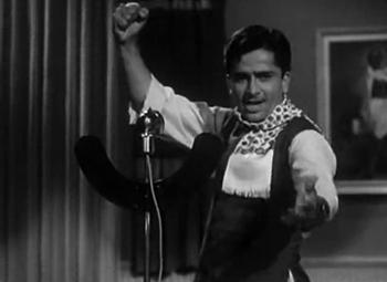 Shashi Kapoor in Dharmputra