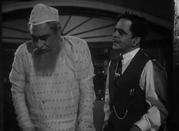 Nawab Badruddin comes to meet Amrit Rai