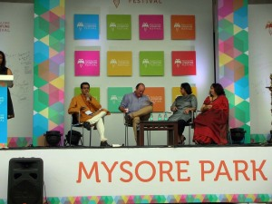 Vikram Sampath, William Dalrymple, Nirmala Lakshman and Anjum Katyal on the anatomy of literary festivals