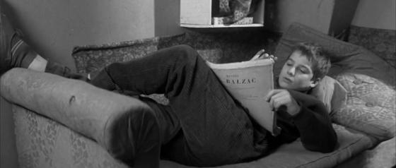 Antoine reads Balzac
