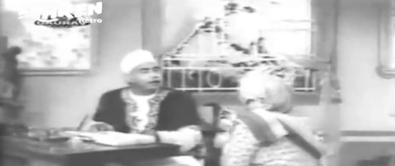 Rana Himmat Singh, with his munim