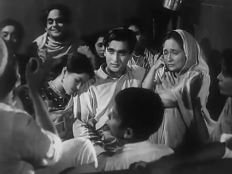 Ram with his mother and sister