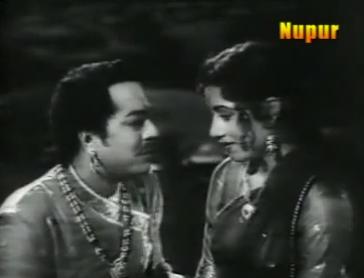 Madhubala and Pradeep Kumar in Raj Hath