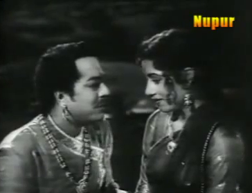Madhubala and Pradeep Kumar in Raj Hath