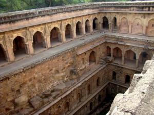 A view of Rajon ki Baoli.