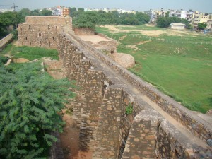 A view of Satpula, from above.