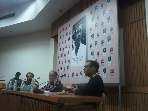 At the book launch of Akshay Manwani's 'Sahir Ludhianvi: The People's Poet'